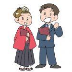 卒業式の名物になった袴に合わせる着物は成人式の振袖ではどうなんだろうか?